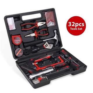 Hardware hand toolset