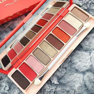 10 Colour Summer Themed Beautiful Eyeshadow Palette