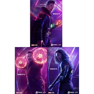 AVENGERS: INFINITY WAR MOVIE POSTERS (PART 5)