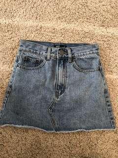 Denim Skirt - Glassons