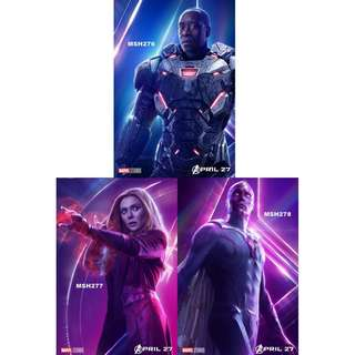 AVENGERS: INFINITY WAR MOVIE POSTERS (PART 6)
