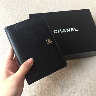 AUTHENTIC CHANEL Calfskin Wallet Purse