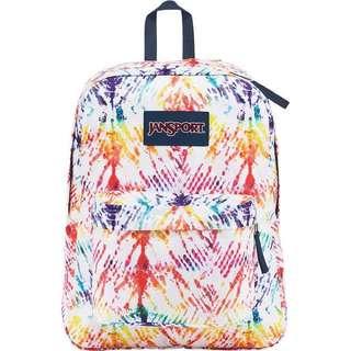 Jansport Superbreak Backpack Rainbow Tie Dye