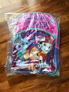 Paw Patrol bag / school bag / backpack
