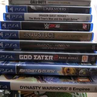 PS4 Games cheap sale
