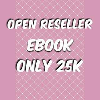 Open reseller ebook 🎉🎉