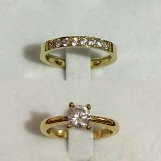 Diamond & Half Eternity Ring