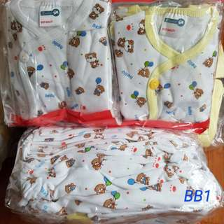 Newborn Pyjamas Wholesale - 100% cotton Singapore Household Brand