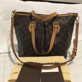 Authentic Lv Palermo Pm size with dustbag good condition