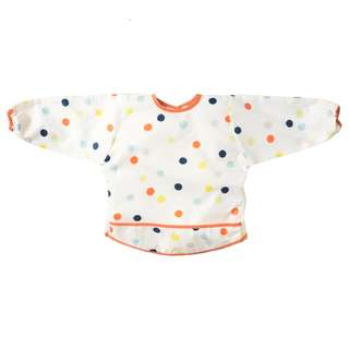 Ikea KLADDIG Long Sleeves Multicolour Bib | Baby Toddler Feeding Art Paint [IK-KLADDRANDIG]