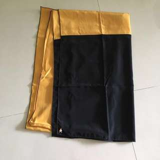dUCk gold & black limited edition tudung by Vivy Yusof
