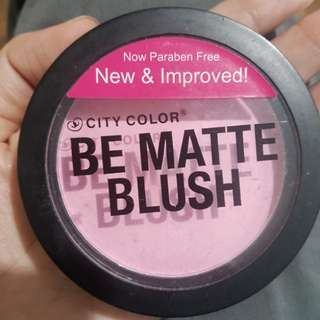 Be Matte Blush-Pink Grapefruit