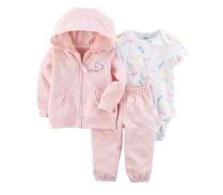 *6M* BN Carter's 3-Piece Little Jacket Set For Baby Girl