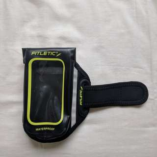 Waterproof running arm band phone case