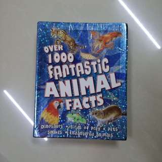 1000 Fantastic Animal Facts Book