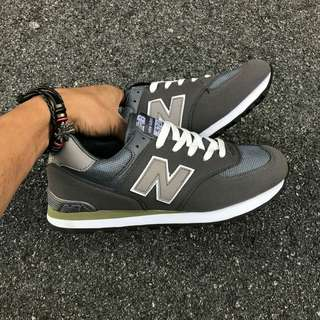 New Balance 574   Color: Grey  Size 41-45  Price: RM70.00 SM/ RM75.00 SS Postage: RM10.00 SM/ RM15 00 SS  S300