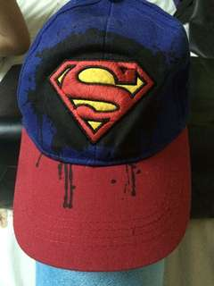 Superman cap 5yo to adult