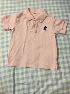 Disney Pink Polo Tee