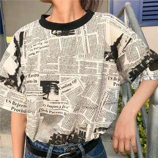 PO Magazine Oversized T-Shirt