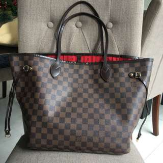 Authentic Damier NF Mm size With dustbag good condition