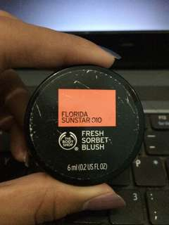 THE BODY SHOP FRESH SORBET BLUSH