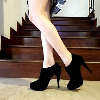 Ruffled Ankle Booties #julypayday