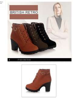 Women Ankle Martin Boots Shoes