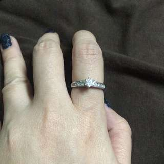 Stainless ring size 5.5