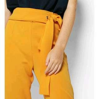 Cotton Ink Della Mustard Pants