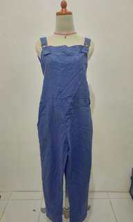 Overall Denim Blue