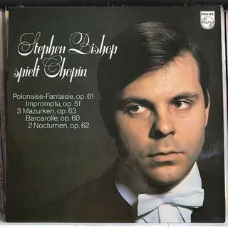 Stephen Bishop plays Chopin Piano PHILIPS LY 6500393