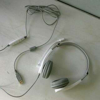 Cliptec USB Headset with Microphone
