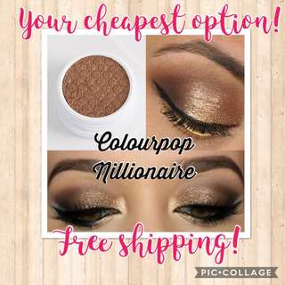 💯🇺🇸Colourpop NILLIONAIRE Super Shock Eyeshadow