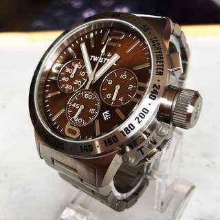 NEGOTIABLE-Brand New TW Steel Canteen Chronograph Watch