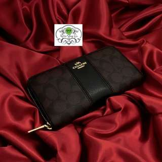 COACH WALLET - COACH LEATHER WALLET - AUTHENTIC QUALITY