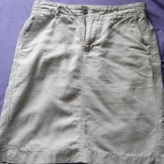 Uniqlo Khaki Skirt