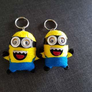 Minions key chain