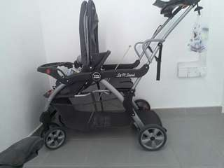 Double stroller baby trend (sit n stand)