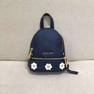 Michael Kors Mini Backpack flowery blue