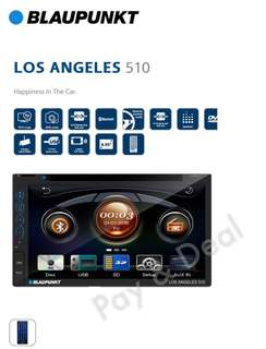 BLAUPUNKT LOS ANGELES 510 Bluetooth | SWC | DVD | USB | MicroSD | RMVD