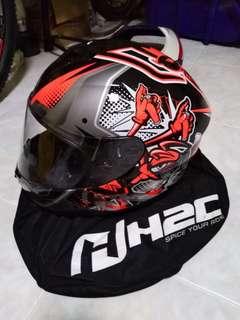 Honda H2C full face helmet