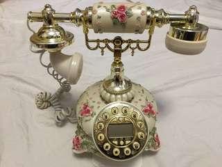仿古歐式客廳古董電話-家居擺設