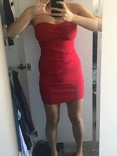 ASOS Red Party Dress