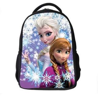 Brand New Frozen Elsa & Anna School Bag For SALE! SGD29! With FREE GIFT! Last Pcs!