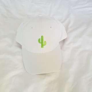 white cactus cap