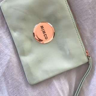 Mimco Small Mint Pouch BNWT
