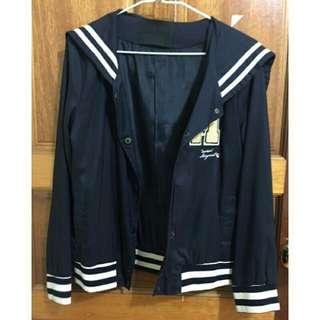 水手領外套