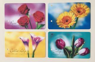 TransitLink Cards - Flowers