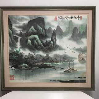 Chinese Mountain-Water Painting
