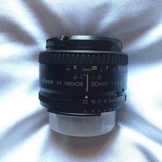 Nikkor 50mm f/1.8D
